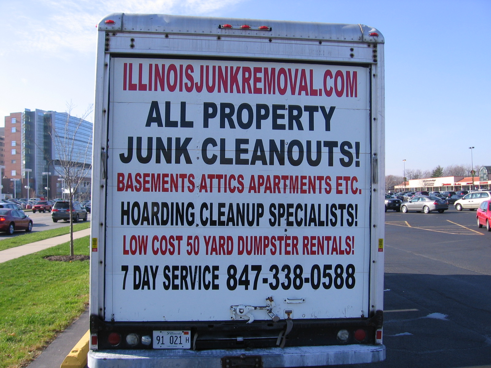JUNK REMOVAL CHICAGO ILLINOIS